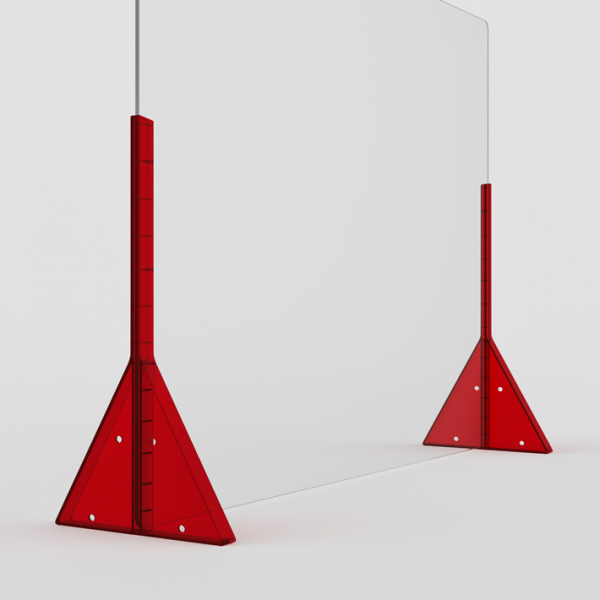 Bariera-Rossa-600x600 Barriere PVC